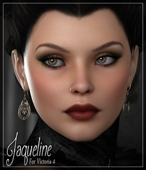 SV7 Jaqueline 3D Figure Essentials Seven