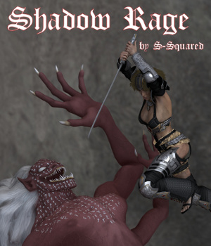 Shadow Rage 3D Figure Assets 3D Models swhawk