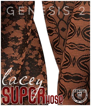 Lacey SuperHose Infinite for Genesis 2 Female(s) 3D Figure Essentials outoftouch