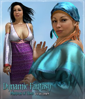 Dynamic Fantasy: Mistress of Flow 3D Figure Essentials Grappo2000
