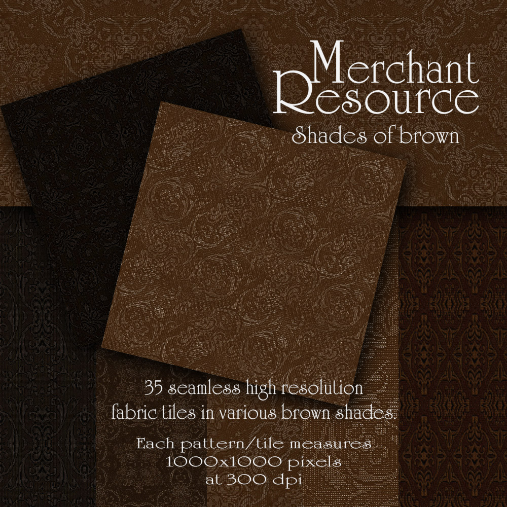 Merchant Resource - Shades of Brown