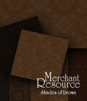 Merchant Resource - Shades of Brown 2D Graphics Merchant Resources antje