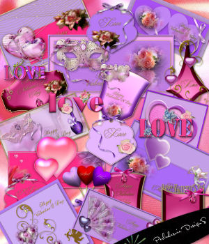 Valentine'S Day 2D Graphics Perledesoie