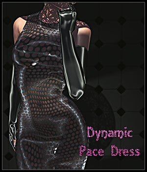 Dynamic Pace Dress 3D Figure Essentials SynfulMindz