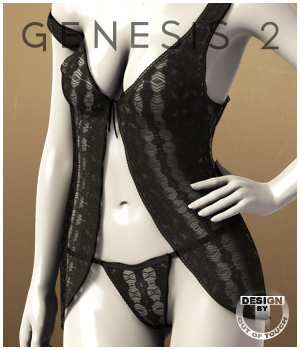 Kiss Me for Genesis 2 Female(s) 3D Figure Essentials outoftouch