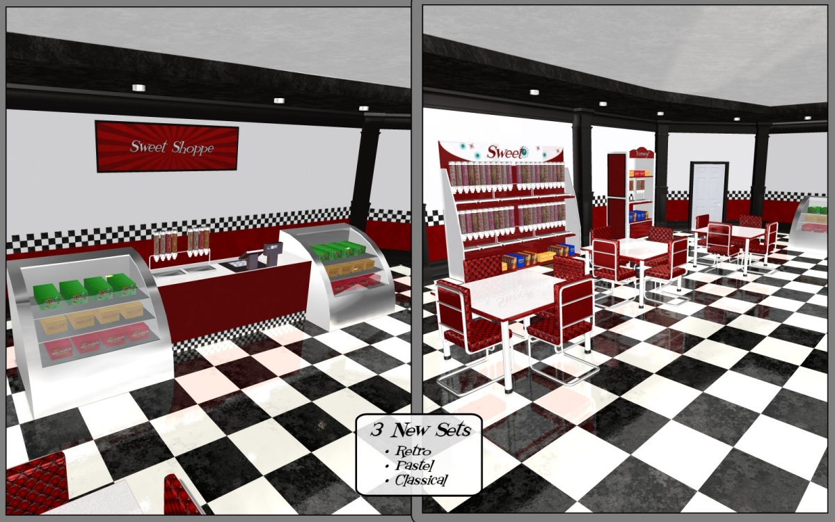 Renovated: Candy Store