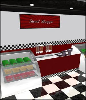 Renovated: Candy Store by 3-DArena