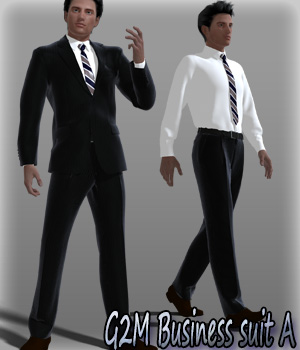 G2M Business suit A 3D Figure Essentials kang1hyun