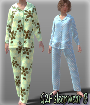 G2F sleepwear B 3D Figure Essentials kang1hyun