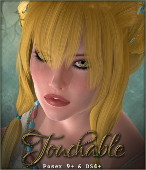 Touchable Thian 3D Figure Assets -Wolfie-