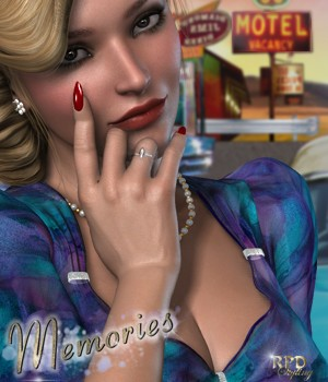 Retro Blouse - Memories by renapd