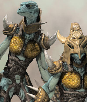 S1M: Reptilez Warrior 3D Figure Essentials 3D Models sixus1