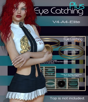 Eye Catching Plus V4-A4-Elite 3D Figure Assets nirvy