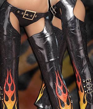 NYC Couture: Genesis 2 Female Chaps & Panties 3D Figure Essentials 3DSublimeProductions