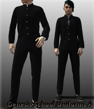 Genesis School Uniforms A 3D Figure Essentials kang1hyun