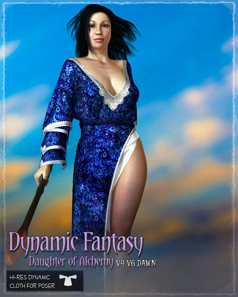Dynamic Fantasy: Daughter of Alchemy