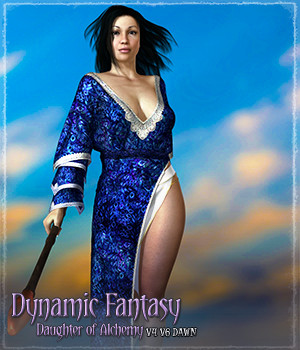 Dynamic Fantasy: Daughter of Alchemy 3D Figure Essentials Grappo2000