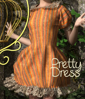 PrettyDress for Victoria 4 3D Figure Essentials Tipol