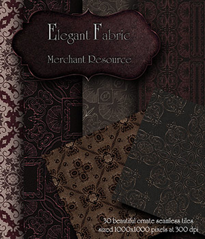 Merchant Resource - Elegant Fabric 2D Merchant Resources antje