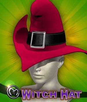 MM Witch Hat 3D Models 3D Figure Assets mix_mash