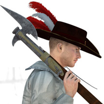 Pirate Boarding Weapons image 2