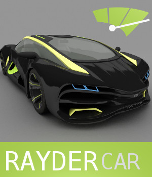 Rayder Car 3D Models TruForm