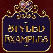 Fancy Jeweled Hearts Layer Styles image 1