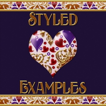 Fancy Jeweled Hearts Layer Styles image 3