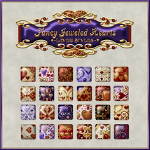 Fancy Jeweled Hearts Layer Styles image 5