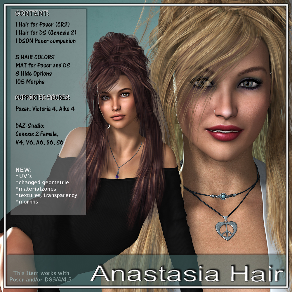 Anastasia Hair for V4 and G2
