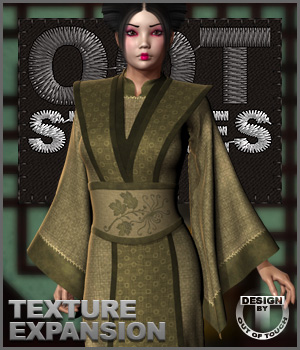 OOT Styles for Dynamic Sakura Kimono 3D Figure Assets outoftouch