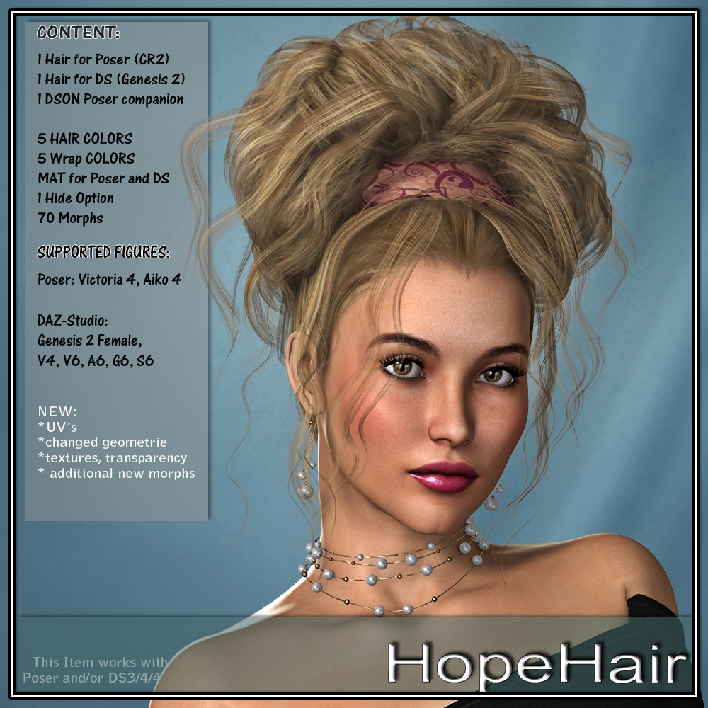 Hope Hair for V4 and G2