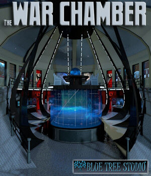 War Chamber 3D Models BlueTreeStudio