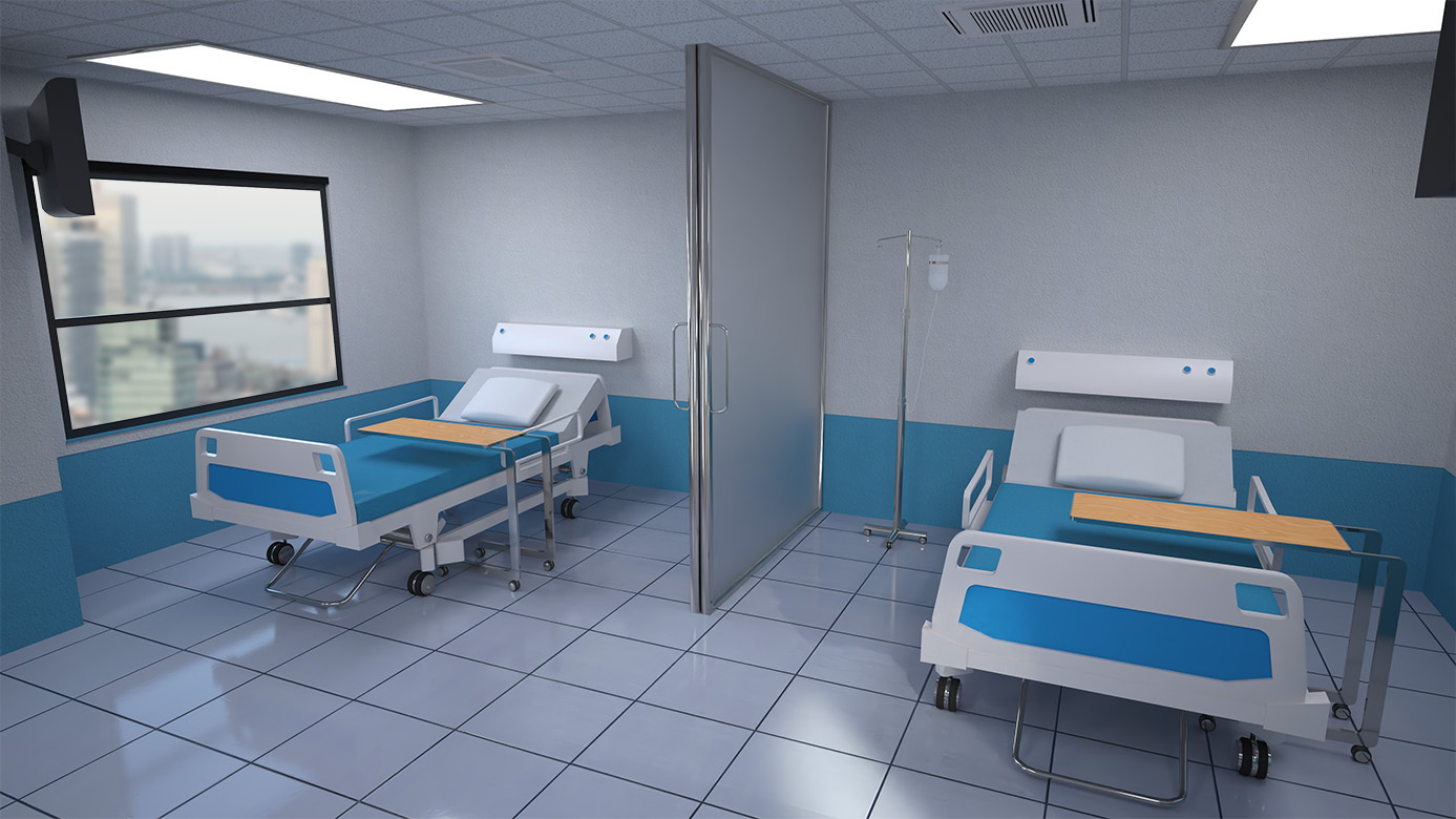 Hospital Room by RPublishing