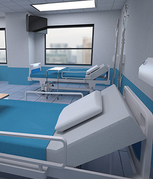 Hospital Room 3D Models RPublishing
