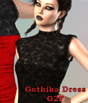 G2F GothikaDress (DS) by Karth