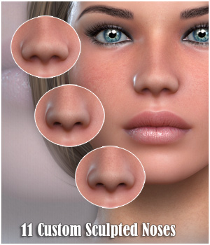 VH Subtle Noses 3D Figure Essentials Godin