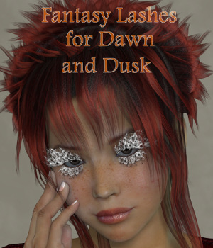 ML Fantasy Lashes for Dawn and Dusk 3D Figure Essentials Mirella