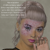 ML Fantasy Lashes for Dawn and Dusk image 1