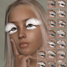 ML Fantasy Lashes for Dawn and Dusk image 2