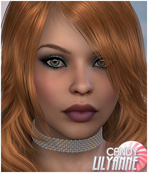 Candy Lilyanne 3D Figure Essentials Sveva