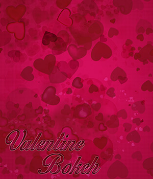 PB - Valentine Bokeh 2D Graphics Merchant Resources Atenais
