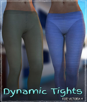 Dynamic Tights 3D Figure Assets ShaaraMuse3D