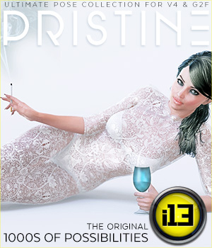 i13 PRISTINE pose collection for V4/V6/G2F 3D Figure Assets ironman13