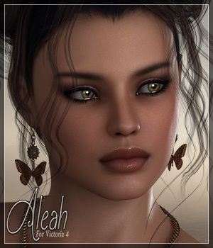 SV7 Aleah 3D Figure Essentials Seven