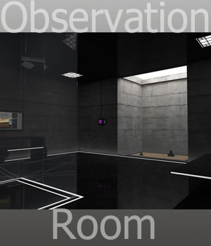 Observation Room 3D Models RetroDevil