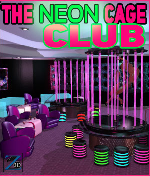 Z The Neon Cage Club 3D Models Zeddicuss
