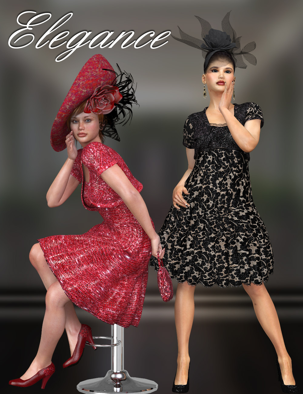 Elegance for Bolero Dress by Virtual_World