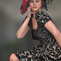Elegance for Bolero Dress image 1