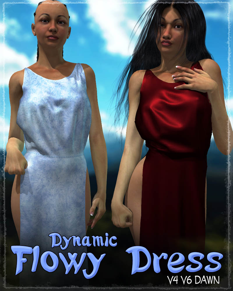 Dynamic Flowy Dress